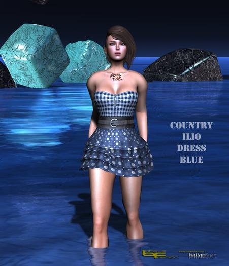 Babele Fashion :: Country Ilio Dress Blue