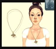 P.C; Diamond Bee Necklace
