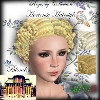 Terrific Second Life Marketplace Cde Regency Hortense Hairstyle Blondes Natural Hairstyles Runnerswayorg