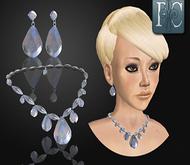 p.c.; Diamond Necklace Set