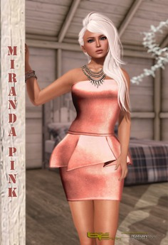 Babele Fashion :: Miranda Pink Cocktail Dress