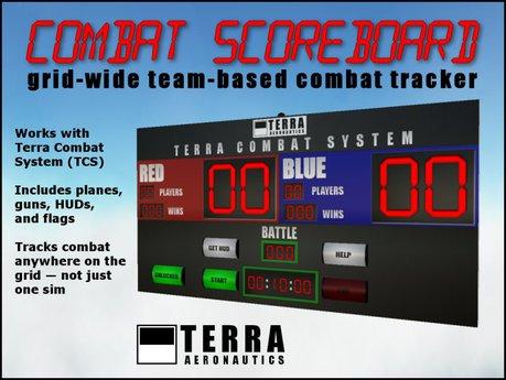 Terra Combat System Scoreboard - sensor-based battles - ✈ by Cubey Terra ✈
