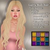 !SOUL - HAIR Mesh - Liatris - 12 Nuances -  Colors Set 1