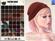 CATWA HAIR Clara Beanie [Darks]