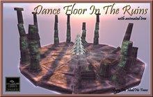 Zinner Gallery - Dance Floor In The Ruins - White