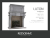 Fireplace LUTON - REDGRAVE