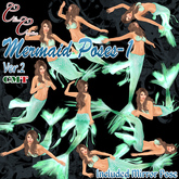 *CC* Mermaid poses-1 ver.2~with mirror pose