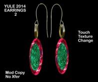 Promotional!! KK Yule Ornament Earrings (boxed)