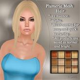 !SOUL - HAIR Mesh - Plumeria - 12 Nuances -  Blondes Set 3