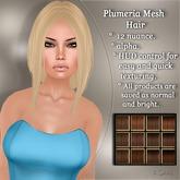!SOUL - HAIR Mesh - Plumeria - 12 Nuances -  Browns Set 1