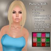 !SOUL - HAIR Mesh - Plumeria - 12 Nuances -  Colors Set 2
