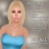 !SOUL - HAIR Mesh - Plumeria - BUY ALL - 14 Colors- 168 Nuances