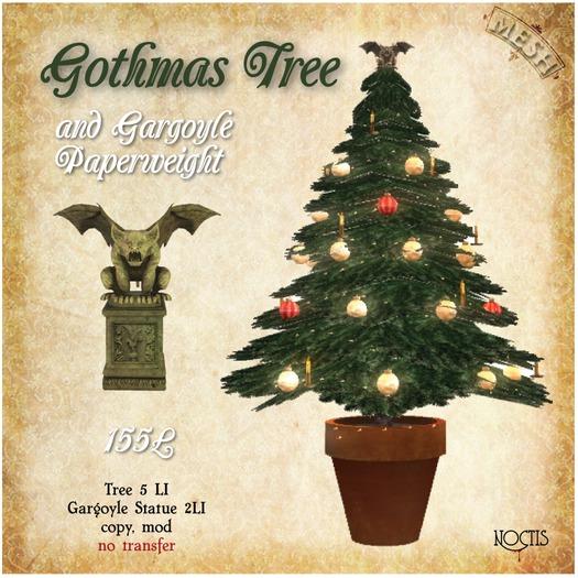 [noctis] Gothmas Tree and Gargoyle BOXED