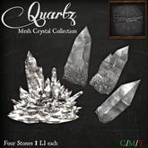 *HEXtraordinary* Quartz Mesh Crystal Collection