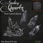 *HEXtraordinary* Smokey Quartz Mesh Crystal Collection