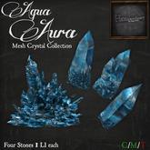 *HEXtraordinary* Aqua Aura Mesh Crystal Collection