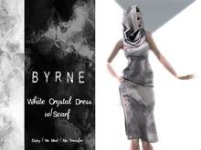 (BYRNE) DEMO Crystal Dress &  Scarf