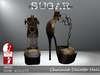 SUGAR - Chained Heel for HIGH SLINK FEET - CHEETAH ~PROMOTIONAL SALE~