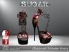 SUGAR - Chained Heel for HIGH SLINK FEET - SUGAR SKULLS ~PROMOTIONAL SALE~