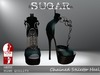 SUGAR - Chained Heel for HIGH SLINK FEET - HEX 2 ~PROMOTIONAL SALE~