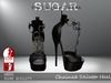 SUGAR - Chained Heel for HIGH SLINK FEET - HEX 1 ~PROMOTIONAL SALE~