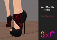 3xC Red Death Heels