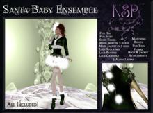 NSP Santa Baby Full Set (Pink/Silver) boxed