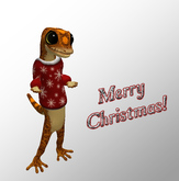 Gecko Christmas Sweater!
