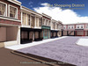 The Shopping District - commercial prefab shops rental space and downtown