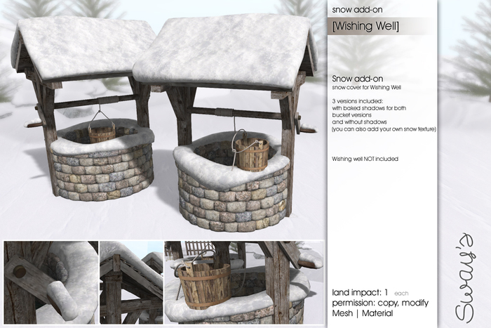 Sway's [Wishing Well] Snow add-on