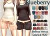 Blueberry kits basic tees   suede skirts