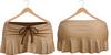Blueberry Kits - Mesh - Belleza Venus & Standard Sizes - Tied Suede Skirts Beige