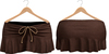 Blueberry Kits - Mesh - Belleza Venus & Standard Sizes - Tied Suede Skirts Brown