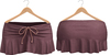Blueberry Kits - Mesh - Belleza Venus & Standard Sizes - Tied Suede Skirts Purple