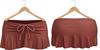Blueberry Kits - Mesh - Belleza Venus & Standard Sizes - Tied Suede Skirts Rose