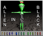ALIEN IN BLACK - WOMAN (MESH)