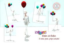 [Kokolores]Ballet de Ballon pose set