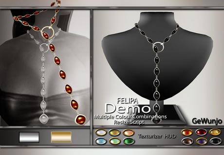 GeWunjo : FELIPA necklace DEMO