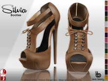 Bens Boutique - Silvia Booties - Tex Changer Hud - (Slink High)
