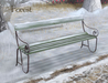 Wintry pembury bench forest