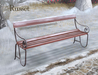 Wintry pembury bench russet