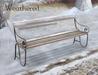 Wintry pembury bench weathered