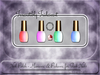 ▪ Irresistibly Iridescent Manicure & Pedicure for Slink ▪