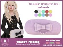 -Buttery Toast- Toasty Fingers - Purple