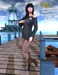 Babele Fashion :: Shoulder Minidress Black
