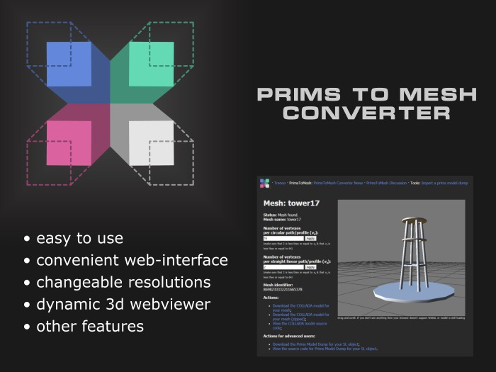 PrimsToMesh — Primitives to Meshes Converter — Full Version
