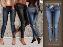 Bens Boutique - Sakura Jeans Light