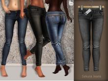 Bens Boutique - Sakura Jeans Gray