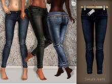 Bens Boutique - Sakura Jeans Dark