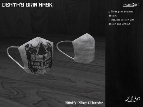 /studioDire/ Death's Grin Mask